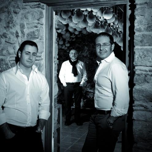 Davide, Antonio e Angelo Madaio, Casa Madaio, buffalo mozzarella