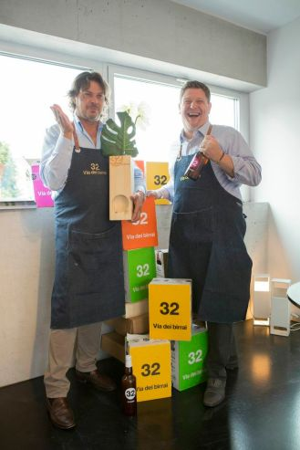 Loreno Michielin e Mauro Gajo, 32 Via dei Birrai, artisanal beer