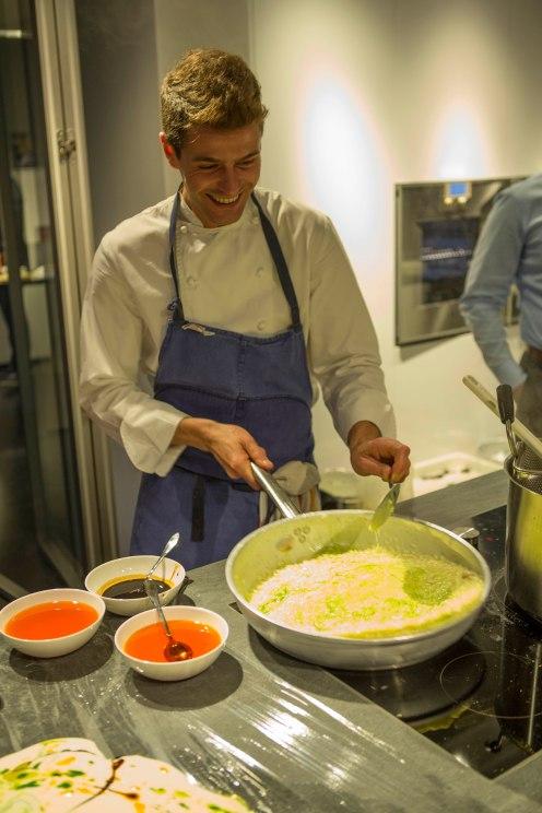 Lapo Querci, event's chef