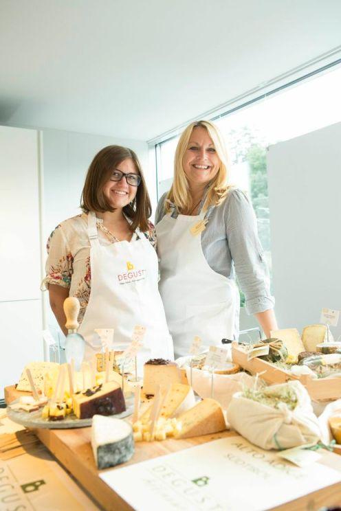 Ms. Baumgartner, Degust, affinated cheese