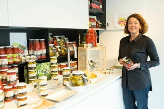 Claudia, Mediterranea Belfiore, vegetable preserves