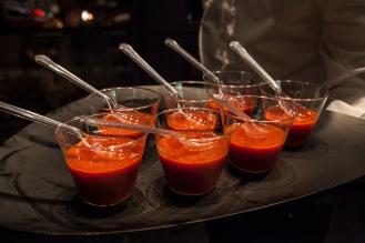 Warm Tomato Soup and Manteca, Mediterranea Belfiore
